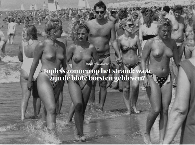 topless zonnen - Topless zonnen