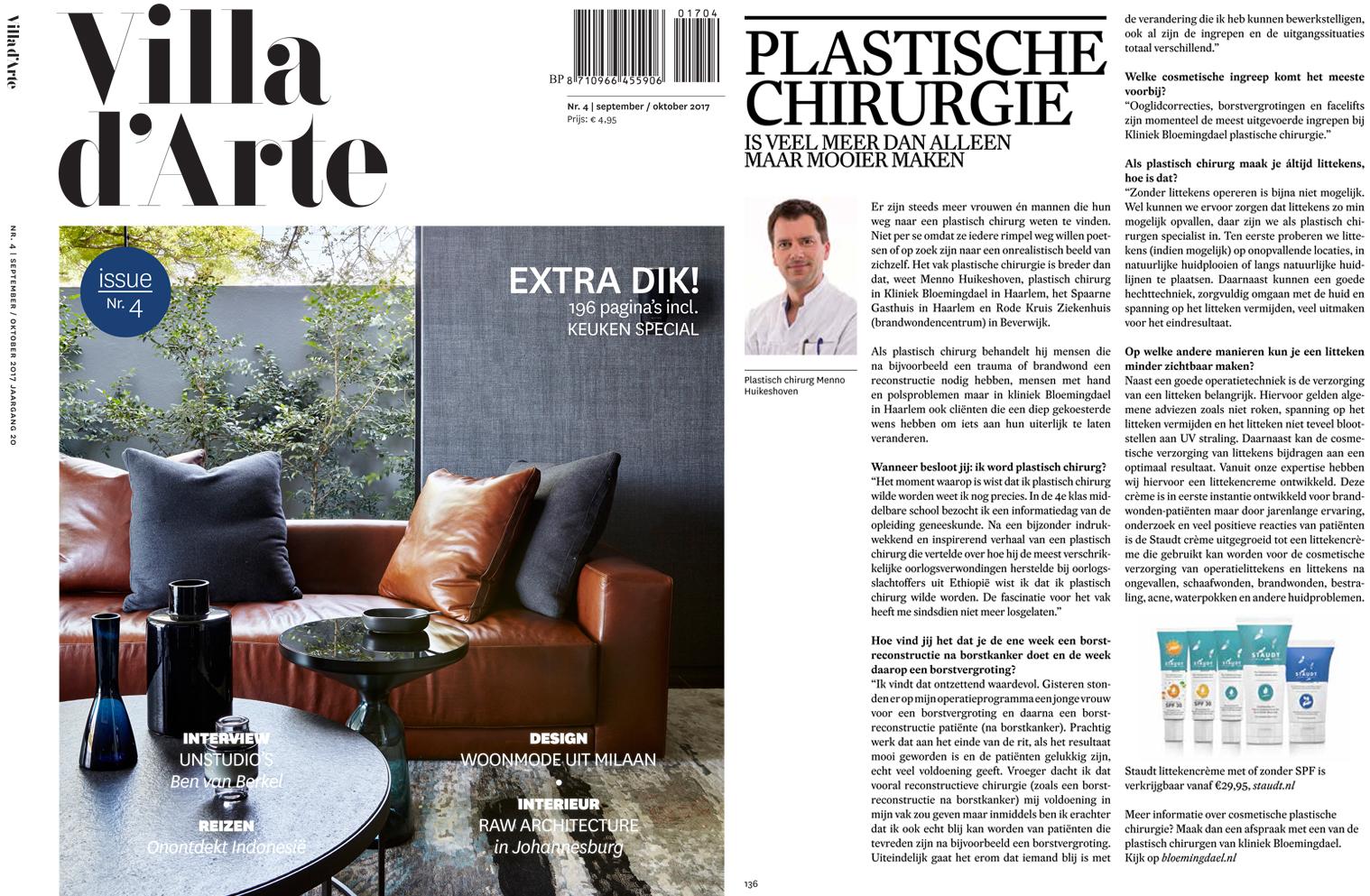 villa d arte 1 - Dr. Menno Huikeshoven vertelt over zijn vak in Villa D'Arte